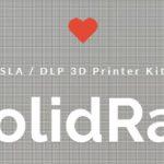 KIT MONTAJE IMPRESORA 3D SLA RESINA SOLIDRAY